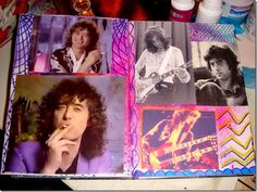 aj jimmy page Jimmy Page, Stairway, Led Zeppelin, Atc, Rock N Roll, Psychedelic, Mixed Media, Heaven, Diamonds