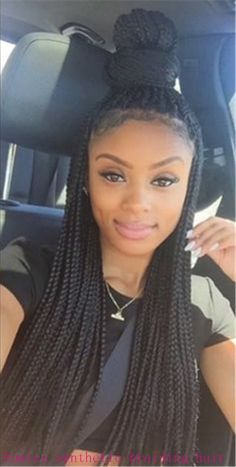 Crochet Box Braids Bun : ... crochet braids hair braiding hair crochet box braid crochet hey twist