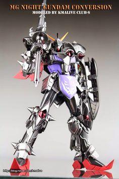 MG 1/100 Night Gundam - Conversion Build