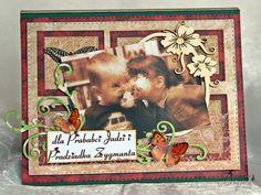 Brujita:Czekoladownik ze zdjęciem Dla babci i dziadka Cover, Frame, Books, Decor, Art, Picture Frame, Art Background, Libros, Decoration