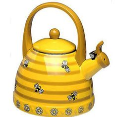 Passed This Bee Tea Pot Makes My Day Every Time It Has An Amazing Whistle