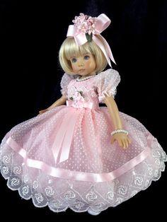 #Pink Dress fit  Effner 13, Little Darling, Betsy McCall. LittleCharmersDollDesgn
