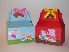 Hey, I found this really awesome Etsy listing at https://www.etsy.com/listing/236140413/peppa-pig-favor-boxes-muddy-puddles