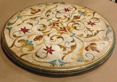 Hand Painted Lazy Susan by SimplyArtisticStyle on Etsy