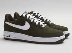Nike Air Force 1 Low  - Dark Loden/White