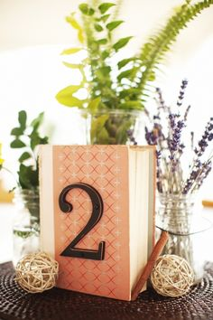 love these table numbers