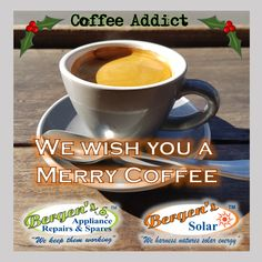 Here's wishing you a year filled with coffee so good it touches your Soul. Bergen, Coffee Beans, Coffee Cups, Solar Geyser, Appliance Repair, Coffee Addiction, I Love Coffee, Home Automation, Solar Energy