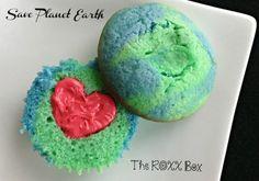 Save Planet Earth Cupcakes @The ROXX Box www.theroxxbox.com