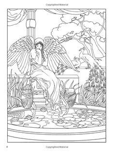 Angel Coloring Book Dover Coloring Books: Marty Noble: 9780486467757: Amazon.de: Books - 469