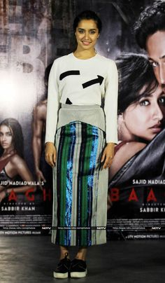 Shraddha Kapoor, Tiger Shroff Take Action Tutorials