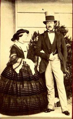 Queen Victoria and Prince Albert