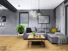 SALON: styl , w kategorii Salon zaprojektowany przez SKAZANI NA DESIGN Studio Architektury