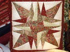COJIN MANTA REALIZADO POR UNA ALUMNA EN EL TALLER DE PATCHWORL CLASES DIARIAS www.bordadosypatchworkamelia.com