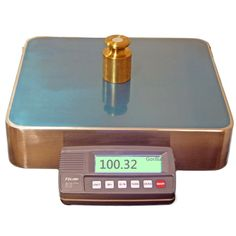 TruWeigh GENERAL Compact Digital Bench Scale x Gram Ounce Troy Ounces Pennyweight with Green LCD display, stainless weighing platform Tare and zero, built in overload protection, optional ac adapter. New Product, Compact, Catalog, Scale, Bench, The Unit, Digital, Weighing Scale, Benches