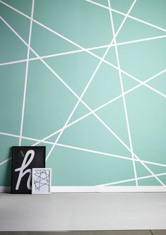 Box Room Bedroom Ideas, Bedroom Wall Designs, Bedroom Wall Colors, Accent Wall Bedroom, Diy Room Decor For Teens, Home Decor Bedroom, Wall Texture Design, Geometric Wall Paint, Corner Sofa Design