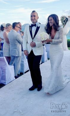 The couple wed during a destination wedding at the Cap Juluca resort in Anguilla on Nov. 19
