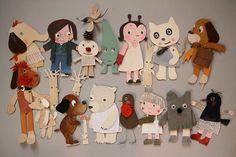 big family | paper dolls