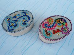Portuguese oval mini box by CieloBluHandcrafts on Etsy