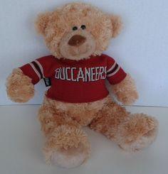 TAMPA BAY BUCCANEERS Hugfun Int'l  Inc. Plush Teddy Bear 40 POINT SWEATER USA #Hugfun40Point #Buccaneers