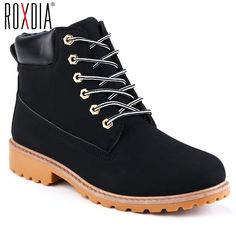 e0a0ea472a13b comROXDIA autumn winter women ankle boots new fashion woman snow boots for girls  ladies work shoes plus size 36-41 RXW762