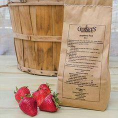 strawberry fertilizer for the best strawberries www.Gardenchick.com