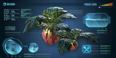 Marblemelons are a great source of food, just don't eat too many, or you'll become sick Subnautica Creatures, Fantasy Creatures, Alien Plants, Alien Concept Art, Space Aliens, Monster Hunter World, Environment Concept Art, Creature Concept, Sea World