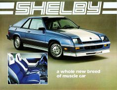 1983 Dodge Shelby Charger (Canada)  Carol Shelby was better with MOPAR!