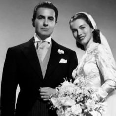 Ty and Linda were married on January 27, 1949, in the Church of Santa Francesca Romana in Rome