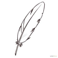 Draw A Feather Feather Drawing Feather Art Feather Whimsical Feather Drawings How To Draw 5 Easy Feathers Feather How To Feather Drawing, Feather Art, Feather Tattoos, Doodle Drawing, Doodle Art, Outline Drawings, Easy Drawings, Zentangle, Feather Template