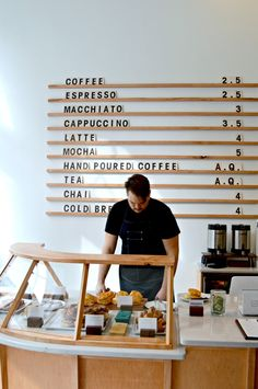 Minimalist Coffee Shop.