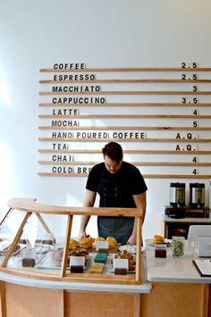 Minimalist Coffee Shop.