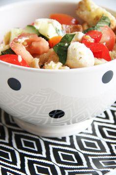 italian bread salad.