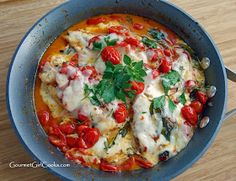 Gourmet Girl Cooks: Grilled Caprese Chicken - Fresh, Low Carb & Delicious