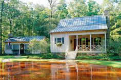 Cabins & Cottages Under 1,000 Square Feet: Deer Run Plan #731