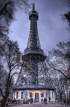 Petrin Tower. If you have time, this is a quaint stop with some nice history and a decent view of the city.