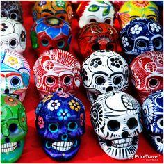 Las calaveras son parte del arte popular mexicano.