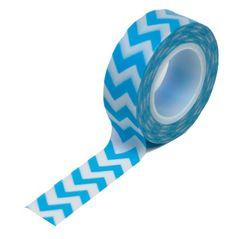 Blue Chevron Trendy Tape