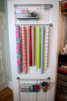 diy wrapping station