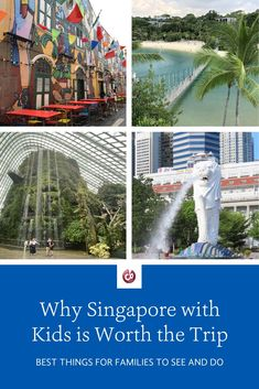 Dec 20, 2019 - A Singapore family vacation is worth the trip! Get our tips for the best things to see and do on a visit to Singapore with kids.