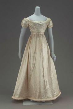 Evening dress, 1817