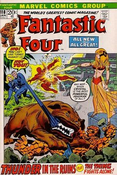 Fantastic Four #118 - Thunder In The Ruins!
