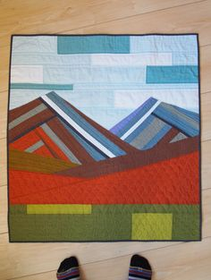 Quilts with a Mountain feel - Google Search