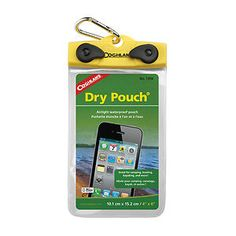 New Coghlans Waterproof Dry Pouch 4 x 6 Perfect for iPhone Smartphone 1305 | eBay