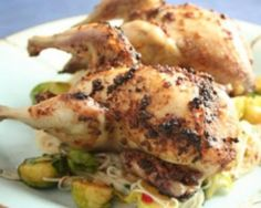 Stuffed Roast Quail Recipe - Dinner