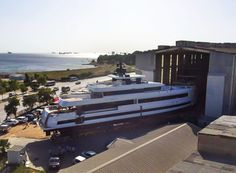Mengi-Yay's 45m superyacht Aquarius gets launched   SuperYacht Times