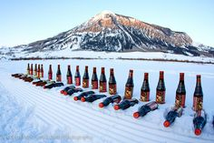 Icy cold beers! Crested Butte, Colorado