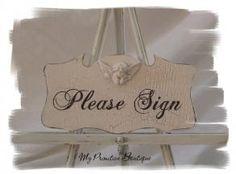 Cottage Wedding Sign ~ Plea - Wedding Signs - $38.00