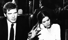 Harrison Ford & Carrie Fisher, 1980.