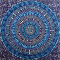 Shop Hippie Tapestries Hippy Mandala Wall Hanging Blue Dorm Tapestry on discount price. We offer indian mandala bed cover bohemian beach blankets on sale. Bohemian Wall Tapestry, Room Tapestry, Indian Tapestry, Mandala Tapestry, Tapestry Wall Hanging, Hippie Tapestries, Wall Tapestries, Bohemian Dorm, Mandala Throw