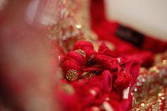 Sabyasachi, Lehenga, Punjabi Bride, Raspberry, Raspberries